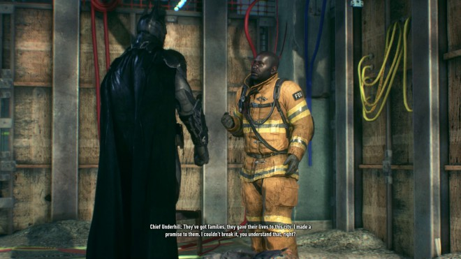 Batman: Arkham Knight последний пожарный Долг зовёт остров Основателей
