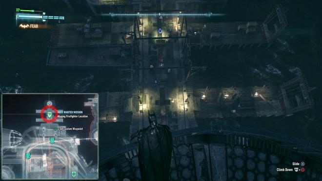 Batman: Arkham Knight Пропавшие Пожарные Остров Основателей Миссия Долг