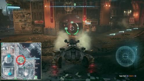 Batman: Arkham Knight месторасположение блокпостов остров Основателей