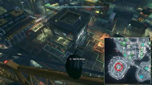 Batman: Arkham Knight Местонахождение пожарных на острове Основателей