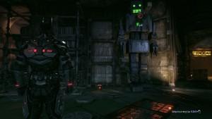 10. Выходим на середину студии видим большого робота, подходим к нему рядом с ним лежит объект.