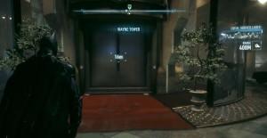 Подымайтесь на лифте в Башню Уэйна.