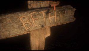 На земле вы обнаружите деревянный крест Бэд.