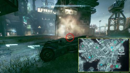 Остров Блик прохождение миссии Разоружение Batman: Arkham Knight