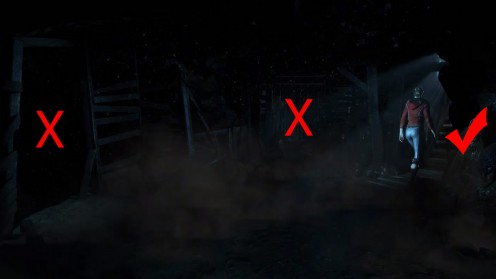 Until Dawn Местонахождение Тотема смерти в 9 главе
