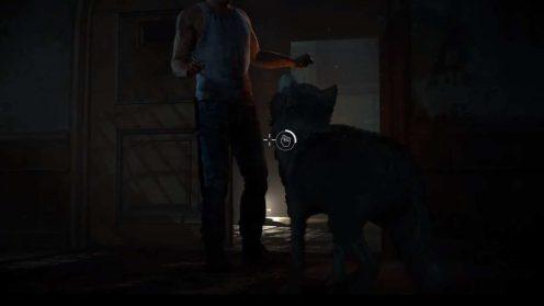 Until Dawn Нападение волка в лечебнице