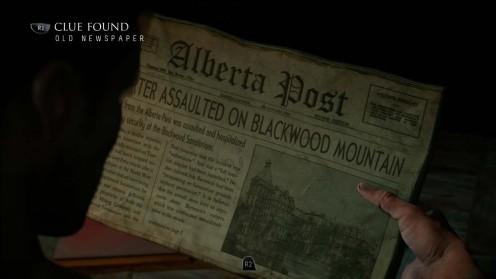 Улика №8 по делу 1952 Местонахождение Until Dawn