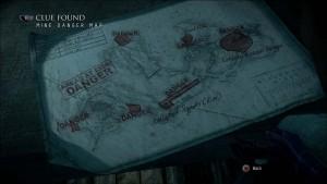 Карта опасных мест в шахтах.
