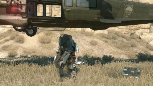 Metal Gear Solid V эвакуация Эммериха на вертолёте как