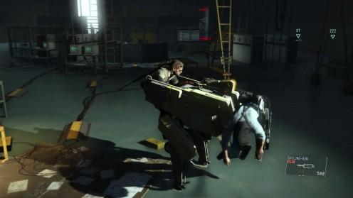 Metal Gear Solid V спасение доктора Эммериха на Базе противника.