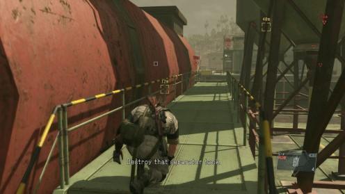 Metal_Gear_Solid_TPP_Непроглядная тьма Миссия 13 Взорвать баки