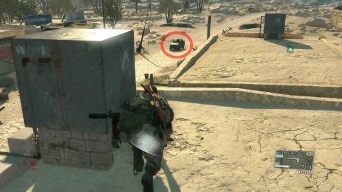 Metal Gear Solid V Кровавая Медь второй командир.