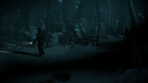 Таинственный Незнакомец Местонахождение Until Dawn Улика №15
