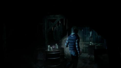 Таинственный Незнакомец Местонахождение Until Dawn Улика №5