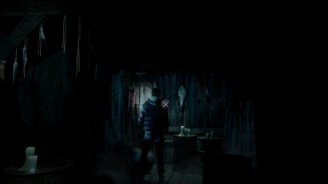 Таинственный Незнакомец Местонахождение Until Dawn Улика №6