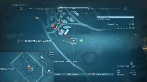 Как убить командира спецназа выстрелом 100-м mgsv
