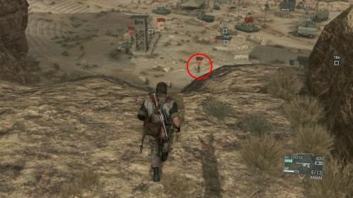 Полковник патрулирует Крепость Смасей Оккупационные силы