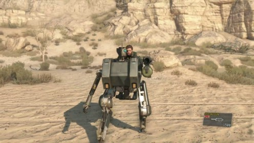 D-Walker напарник в игре metal gear solid 5 TPP