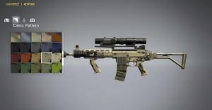 После вербовки Оружейника, вы сможете модернизировать оружие.