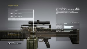 Кастомизация оружия в MGSV.