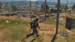 Месторасположение контейнеров в лагере.