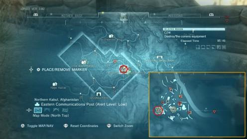 Metal Gear Solid V: Phantom Pain Местонахождение алмазов