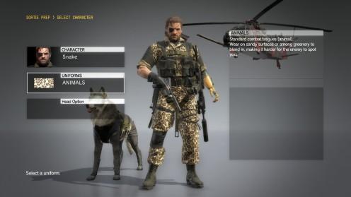 mgs5-униформа-животные