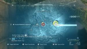 Карта с местом PB-Shield.