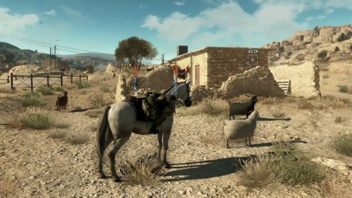 metal gear solid v phantom pain напарник лошадь