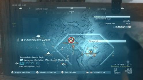 Местонахождение Uragan-5 Чертёж в MGSV