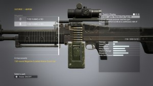 Модификация оружия.