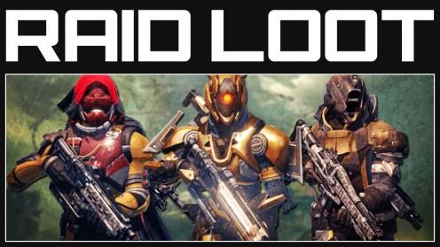 Выпадение экипировки в Raid Destiny