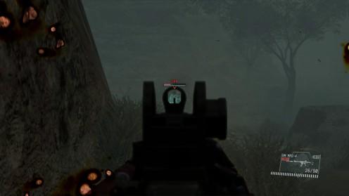 mgs5-стрельба по черепам в голову.