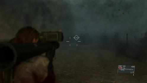 Атаковать черепов с ракетницы MGSV