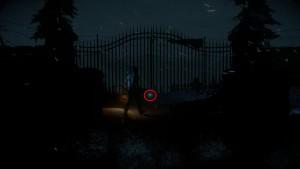 Рядом с железными воротами Санатория лежит Тотем Удачи № 2