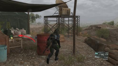 MGS 5 Миссия 26 Где найти разведанные