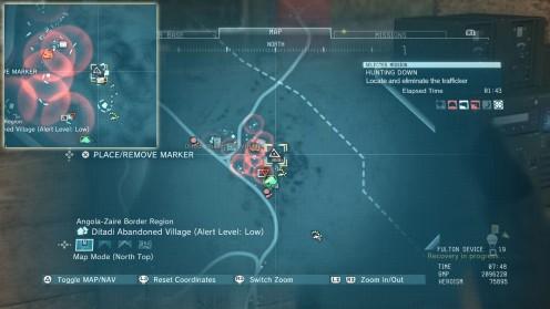 MGS V Местонахождение Разведанных Миссия 26 Охота