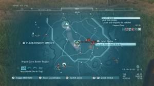 Месторасположение на карте работорговца.