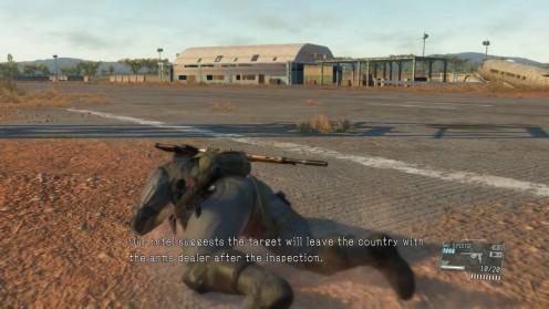 Местонахождение Контейнера Миссия 21 Военная Экономика MGSV