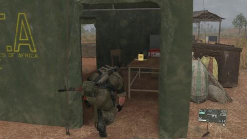 MGSV The Phantom Pain Миссия Местонахождение сведений Конвоя