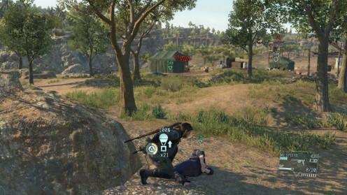Metal Gear Solid 5 Местонахождение Инженера Близкий Контакт