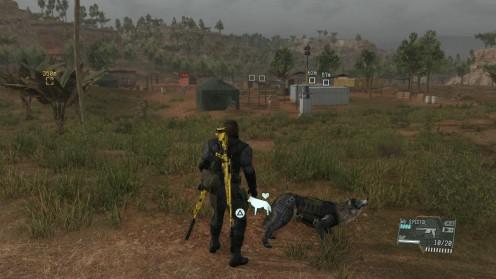 Metal Gear V Близкий Контакт Где найти контейнеры
