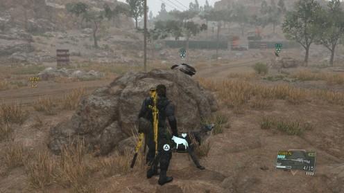 MGSV Где найти боевого Орла Миссия 24