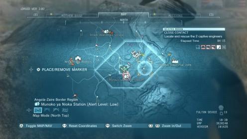 Metal Gear Solid 5 Местонахождение Боевого Орла Близкий Контакт
