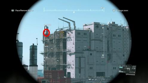 Местонахождение Командира Миссия 22 Освобождение Платформы Metal Gear Solid 5 TPP