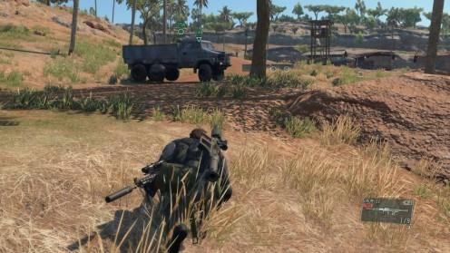 Metal Gear 5 эвакуация разведчика Миссия 27