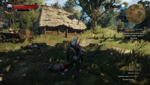 Разобравшись с рыцарями обязательно загляните в деревянную хижину