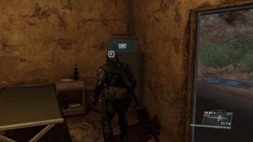 Поиск кассеты Metal Gear Solid V