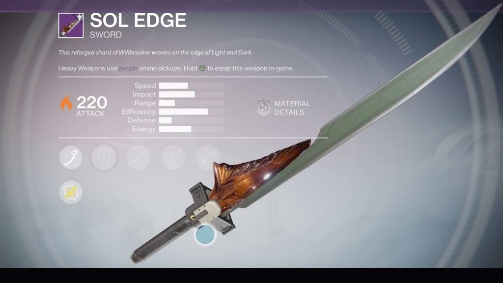 Destiny,Taken king,оружие,exotic,легендарное оружие,меч