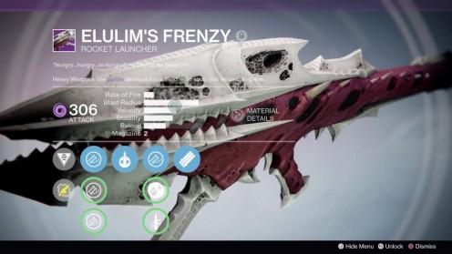 Destiny ttk elulims frenzy награда за рейд kings fall